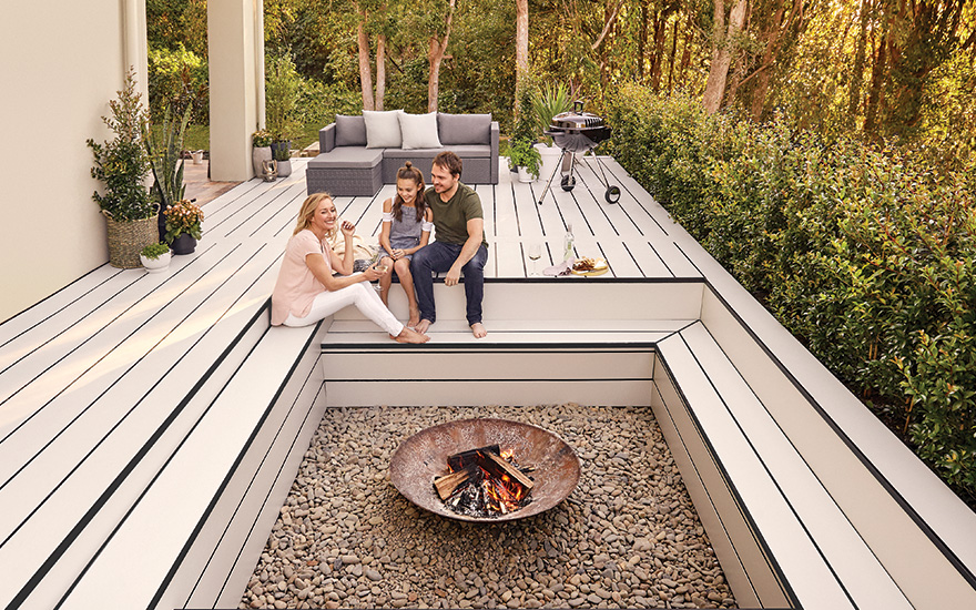 Fire Pits Hardiedeck System